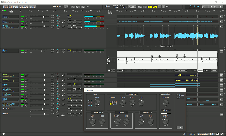 MultitrackStudio on Windows